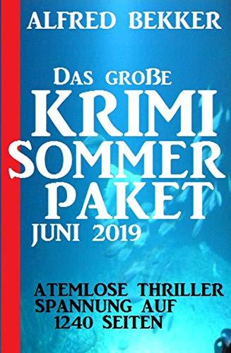 Das große Krimi Sommer-Paket Juni 2019 -