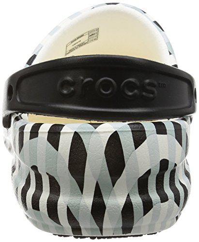 crocs Unisex-Erwachsene Bistroginghmclg Clogs Weiß (White)