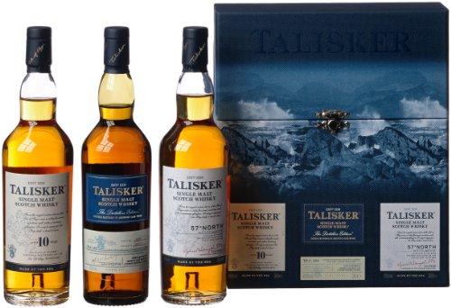 Talisker Geschenkset Single Malt Scotch Whisky (3x 0.2 l)