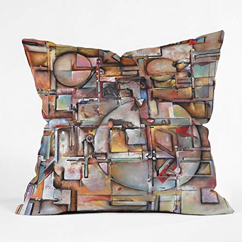 Suminla-Home Urban Decay Housse de Coussin décorative pour canapé 45 x 45 cm