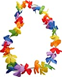Party Rainbow Colour Hawaiian Tropical Leis For Beach Fancy Dress Up Costumes Outfits Accessory