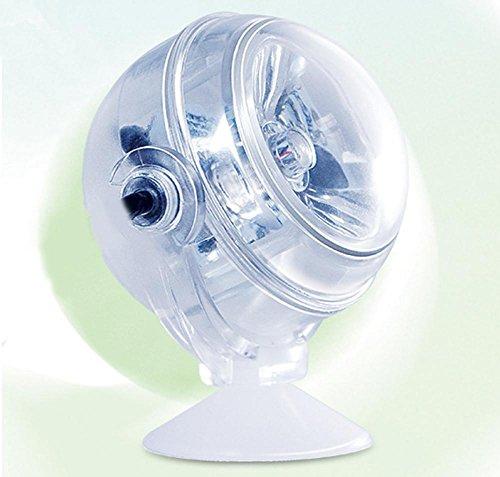 HHORD PVC-Aquarium leuchtet LED-Nachtlichter Wasser Aquarium Aquarium Lichter Wasser und Land Dual-Use-Tauchen Bunte Gradienten Lichter Buchse Tank