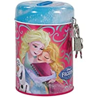 Frozen - Hucha infantil con candado (metal), diseño de Frozen
