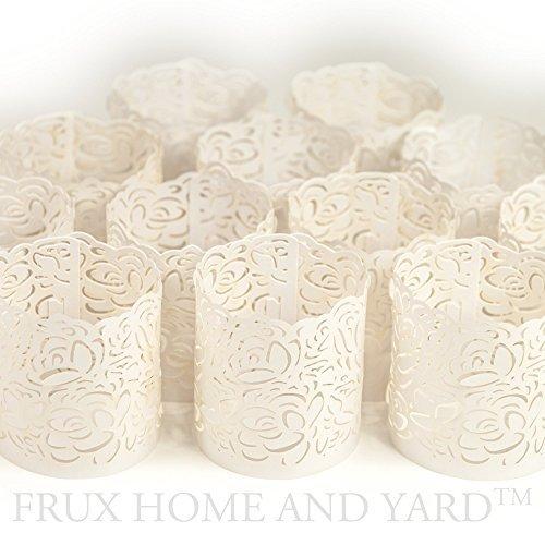 korative Teelichtverpackungen / Halter für Flammenlose Teelichter und Votivkerzen (Papier Laternen Bulk)