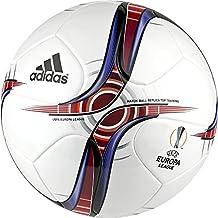 adidas UEFA Europa League Top Trainin - Balón de fútbol, color blanco, talla 5