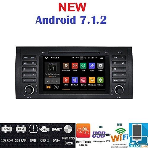 7.1Android GPS DVD USB SD Wi-Fi Bluetooth Autoradio GPS BMW E39/BMW X5E53/BMW M5/BMW E38