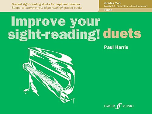 Improve your sight-reading! Piano Duets Grades 2-3 por Paul Harris