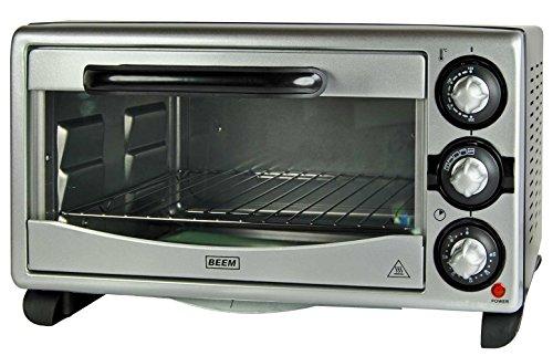 BEEM 18L Miniofen UMLUFT 1380W Pizzaofen Minibackofen Ofen Timer Backofen