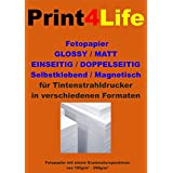 100 hojas de papel de doble cara recubierta A4 mate Papel fotográfico 130g /m². Mate recubierto de papel fotográfico Premium Inkjet para impresiones a doble cara de alta calidad.