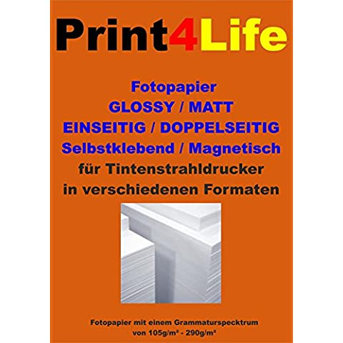 50 hojas A3 mate papel fotográfico 130g /m² papel estucado. Mate recubierto de papel fotográfico Premium Inkjet para copias a una cara de alta calidad.