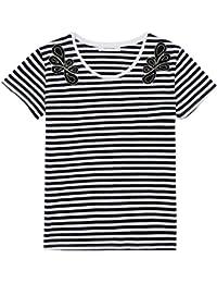 Promod Gestreiftes Baumwoll-T-Shirt