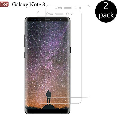 Galaxy Note 8 Screen Protector, CTREEY [Full Coverage] [Case Friendly] Soft Flexible TPU Not Glass film Scratch Resistant Super Thin HD clear Screen Protector for Samsung Galaxy Note 8 (2 Pack)
