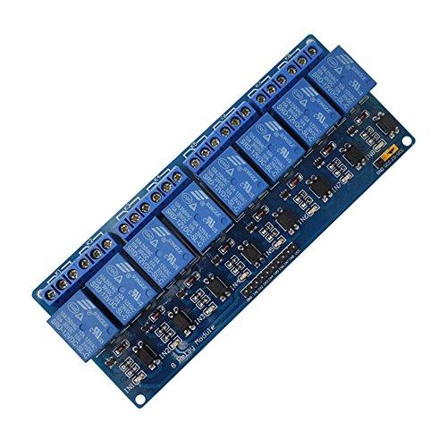 hillrong 8-Kanal 12V Relais Schild Modul für Arduino UNO 25601280Arm Pic AVR STM