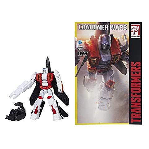 Transformers Generations Combiner Wars Deluxe Air Raid With Comic by Hasbro