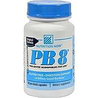 PB8, Original Formula, 60 Pro-Biotic Capsules - Nutrition Now - Qty 1