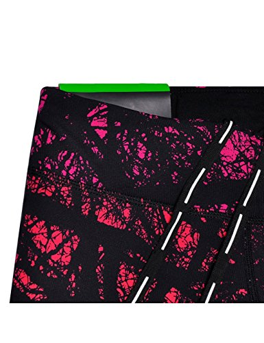JIMMY DESIGN Damen Printed Sporthose Leggins – Funk Kunst - 3