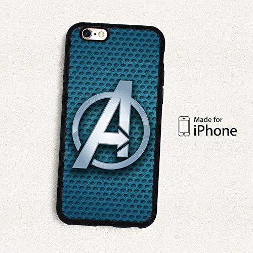 Super Héros Marvel Coque souple pour Apple iPhone 6Plus & 6plus. S, AVENGERS, Apple iPhone 6 Plus