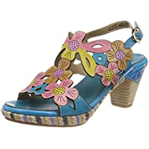 Laura Vita Dobby 03, Nu-Pieds Femme - Turquoise - Turquoise (Turquoise Turquoise), 39 EU