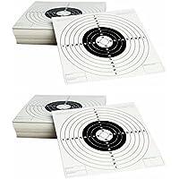 Outletdelocio. Pack de 200 dianas de carton de tiro al blanco Gamo tamaño 14x14 cm. 2-36500