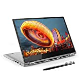 Lenovo Yoga 530 Notebook Convertibile, Display 14' Full HD Multitouch, Processore AMD Ryzen 7, 512GB SSD, RAM 8GB, WiFi, Fingerprint, Windows 10, Nero