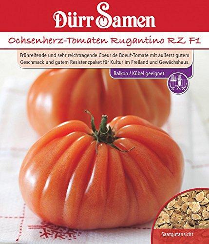 Ochsenherztomate Rugantino RZ F1 | Ochsenherztomatensamen von Dürr Samen