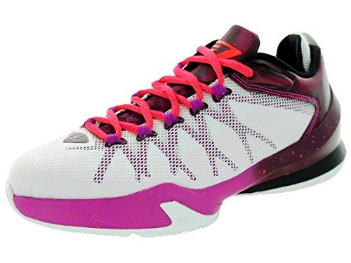 Jordan Bambini Nike CP3.VIII AE BG Scarpa da Basket, Viola (White/Infrrd 23-Brdx/FCHS FLSH), 20 EU Bambino
