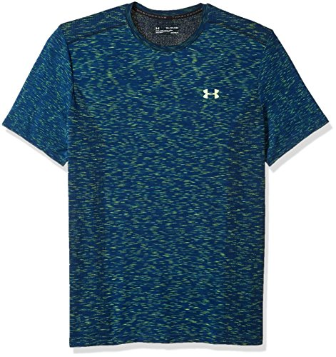 Underarmour Herren T-Shirt threadborne Seamless Under Armour Academy/Quirky Lime