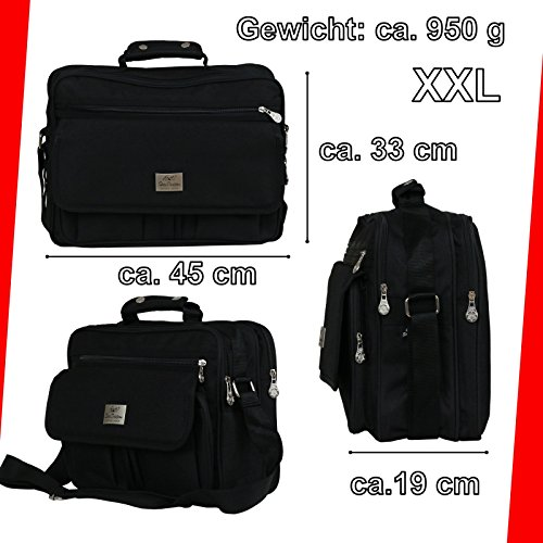 Star Dragon , Borsa Messenger  Nero Modell 3 Modell 1