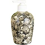 Sforzi Handmade Ceramic Handwash Liquid Soap Dispenser / Shampoo Dispenser / Lotion Dispenser / Gel Dispenser - 250 Ml