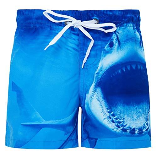 Funnycokid Ragazzi Short Nuotare Abbigliamento Stampare Flower Estate Asciugatura Veloce Elastico in Vita Coulisse Bambini Board Shorts