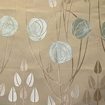 Baumwollstoff | 'Beauclair' Art Nouveau / Jugendstil Stoff