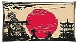 I-love-Wandtattoo WAS-11168 Wohnraum Asien Wandsticker