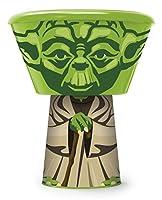 Star Wars - Set Colazione Impilabile 3Pz - Bicchiere, Ciotola E Piattino - Novità Prodotto Originale [Yoda] - Set Colazione 3 pz Composto da : Bicchiere, Ciotola e Pisttino - Impilabile per Formare Il Vostro Personaggio Preferito - Rende la T...