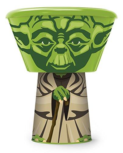 Boyz Toys Stapelbares Geschirr, Design:Yoda (Star Wars) - Design-stapelbar