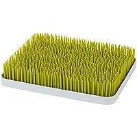 Boon Lawn - Bandeja de secado para biberones con diseño de césped, tamaño grande