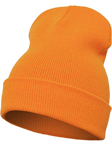Flexfit Mütze Heavyweight Long Beanie, blaze orange, one size, 1501KC-00581-0050