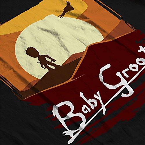 Guardians Of The Galaxy Baby Groot Apocalypse Now Women's Vest Black