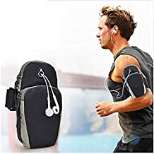BOKA® Sports Armband Pouch/Arm Belt - Universal Waterproof Hand Fitness Mobile Case for Running Hiking Jogging Sports & Gym Activities for All Android and iOS Mobile Phones(Up to 6.5inch)