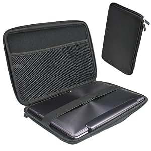 """igadgitz Schwarz EVA Hart Tasche Case Hülle für Verschiedene Asus 10.1"""" Tablets (Transformer Pad/Infinity/Book/Memo Pad & Vivo Tab)"""
