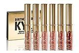 Kylie Birthday Edition - Colección de 6 pintalabios/brillo de labios