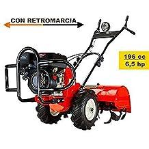 LGVSHOPPING motocultor motoazada Tractor con Marcha Atrás de 4 Tiempos de Gasolina ...
