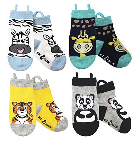 Calcetines de animales para niños