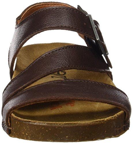 ART 0999 Memphis i Breathe, Sandali con Cinturino alla Caviglia Unisex – Adulto Marrone (Brown)