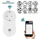 Wifi Smart Plug, ONEVER Wireless Wifi Intelligente Steckdose Power Outlet Arbeit mit Alexa & Google Home, schalten ON / OFF Elektronik von überall kontrolliert von iOS und Android App
