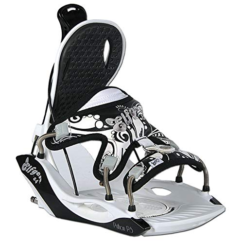 Damen Snowboard Softboot Step-IN BINDUNG - ELFGEN Python Premium White GR. S