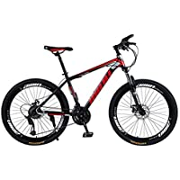 Vélos VTT, Lomsarsh Vélo de Montagne Adulte à Vitesse Variable 26 Pouces, vélo de Route à Vitesse Variable Bicyclette…