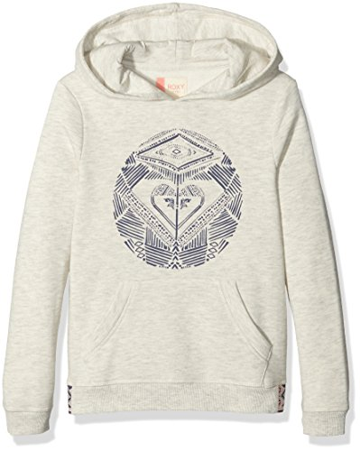 roxy-riding-owls-dancing-on-sweat-shirt-fille-metro-heather-fr-12-ans-taille-fabricant-12-l