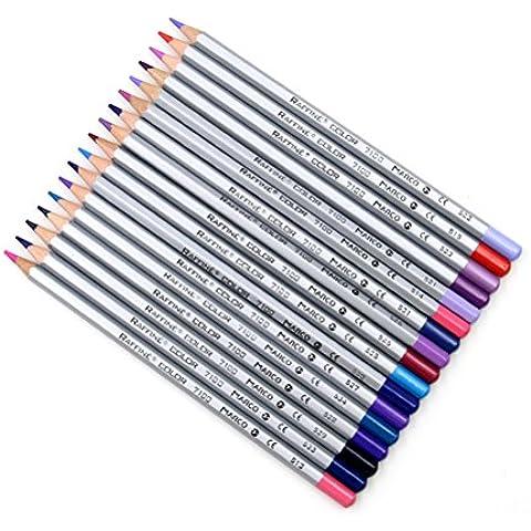 Yihya Un insieme di 48 Colori Arte Disegno Matite Pittura per Artista Schizzo e Secret Garden Coloring Book Disegno Olio Pen Set con