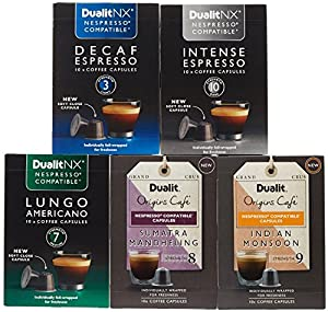 Dualit NX Nespresso Compatible Variety Pack - 50 Capsules