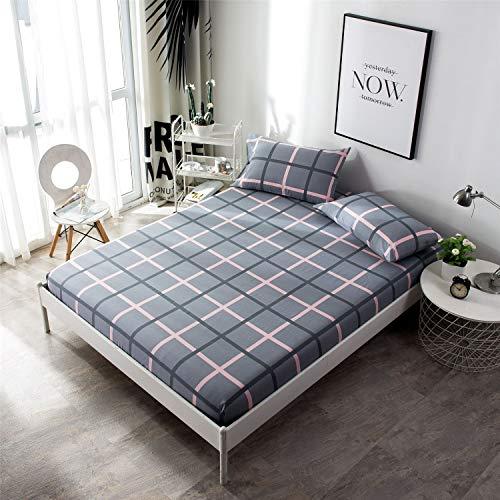 Comeyang Inkontinenzauflage in verschiedenen Größen&Farbe, Wiederverwendbar Wasserdicht Atmungsaktiv rutschfeste Abdeckung,Bettdecke aus Baumwolle 9 120X200cm